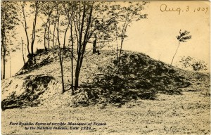 From Fort Rosalie, scene of terrible massacre of French by the Natchez Indians, year 1729.  Sysid 92207.  Scanned as tiff in 2008/08/12 by MDAH.  Credit:  Courtesy of the Mississippi Department of Archives and History