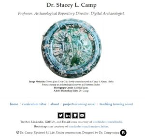Dr. Camp's Website